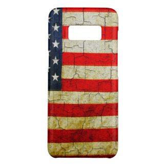 Cracked America flag Case-Mate Samsung Galaxy S8 Case