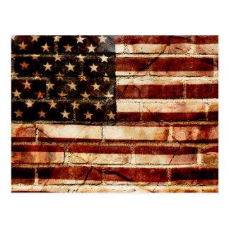 Cracked America Postcard