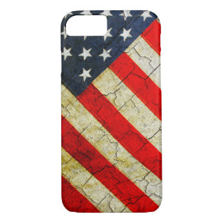 Cracked American flag Case-Mate iPhone Case