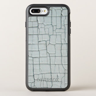 Cracked and Chipped White Paint OtterBox Symmetry iPhone 8 Plus/7 Plus Case