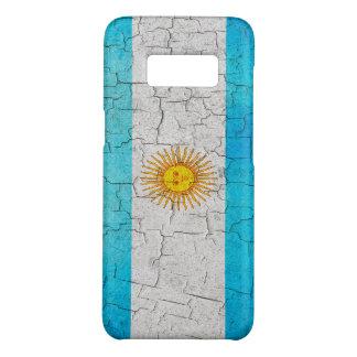 Cracked Argentina flag Case-Mate Samsung Galaxy S8 Case