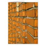 Cracked Brick Wall Greeting Card