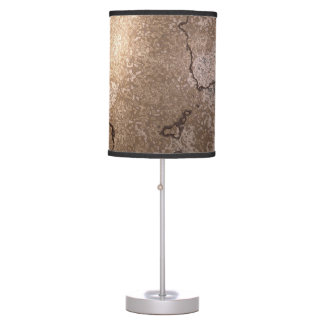Cracked Brown Egg Table Lamp