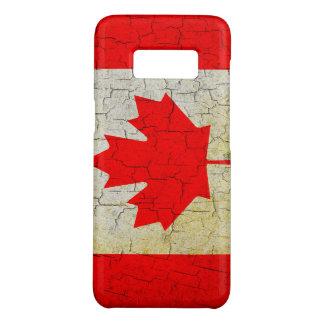 Cracked Canada flag Case-Mate Samsung Galaxy S8 Case