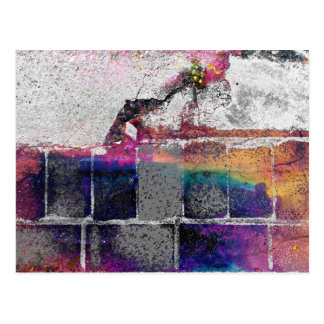 Cracked Concrete Series Postcard