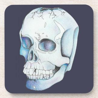 Cracked Crystal Skull Coaster