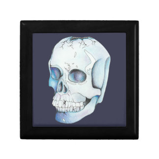 Cracked Crystal Skull Gift Box