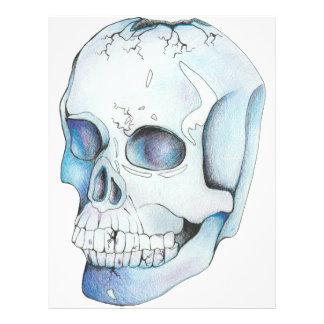 Cracked Crystal Skull Letterhead