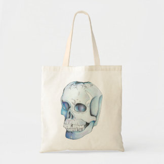 Cracked Crystal Skull Tote Bag