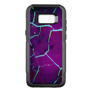 Cracked -Deep Purple OtterBox Commuter Samsung Galaxy S8+ Case