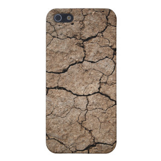 Cracked Dried Mud Case For The iPhone 5