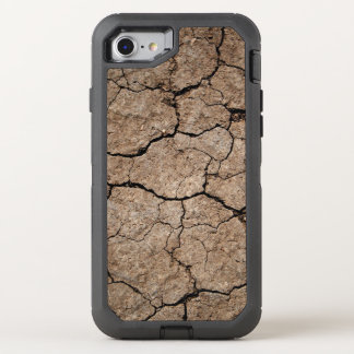 Cracked Dried Mud OtterBox Defender iPhone 8/7 Case