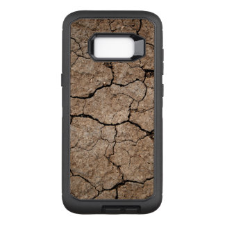 Cracked Dried Mud OtterBox Defender Samsung Galaxy S8+ Case