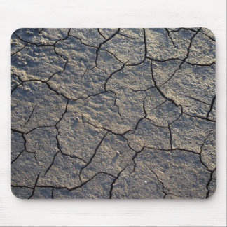 Cracked Dry Earth Mud Mouse Pad