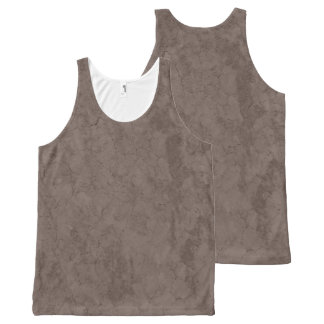 CRACKED EARTH NATURAL Slipperywindow All-Over-Print Tank Top