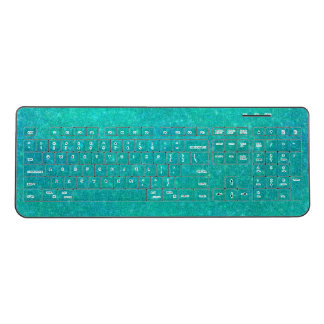 Cracked Glass Wireless Keyboard