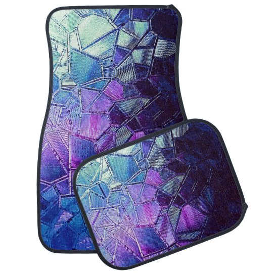 Cracked Ice of the Grape Punch Pond Car Liners