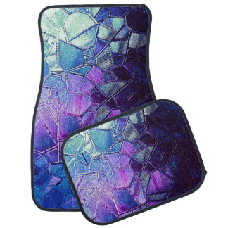 Cracked Ice of the Grape Punch Pond Car Mat