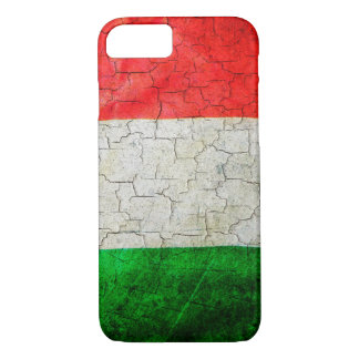 Cracked Italy flag iPhone 7 Case