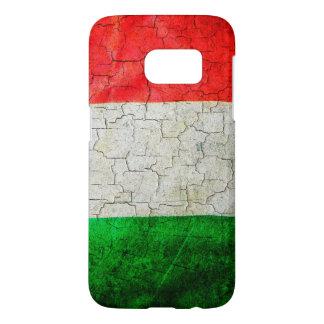 Cracked Italy flag Samsung Galaxy S7 Case