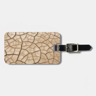 Cracked Mud Bag Tag