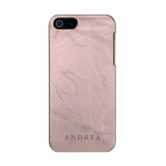 Cracked Pink Marble Phone Case Incipio Feather® Shine iPhone 5 Case