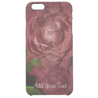 Cracked Red Rose by Shirley Taylor Clear iPhone 6 Plus Case