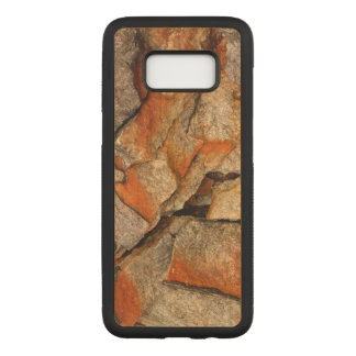 Cracked Rocks Carved Samsung Galaxy S8 Case
