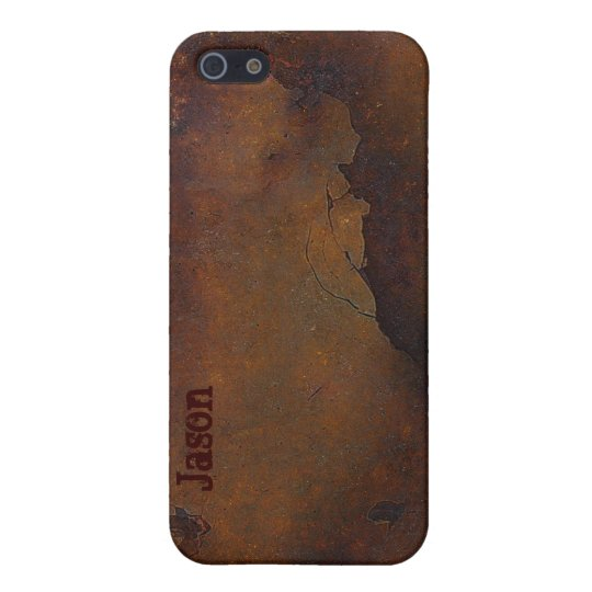 Cracked & Rusty Look iPhone 5 Case