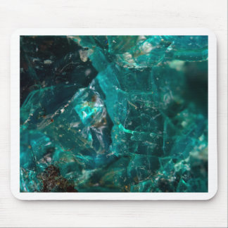 Cracked Teal Sugar Mouse Pad