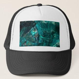 Cracked Teal Sugar Trucker Hat