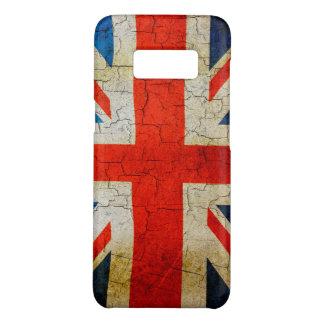 Cracked UK union jack flag Case-Mate Samsung Galaxy S8 Case