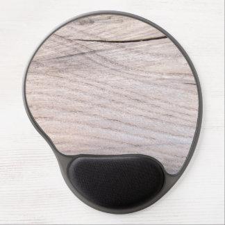 Cracked Wood Grain Gel Mousepad