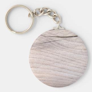 Cracked Wood Grain Keychain