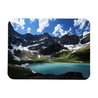 Cracker Lake Rectangular Photo Magnet