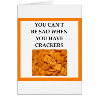 CRACKERS CARD