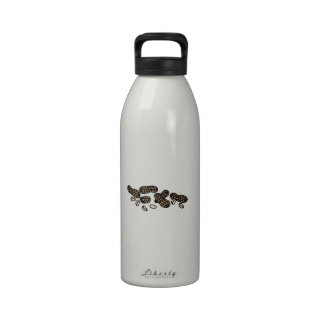 Cracking Peanuts Drinking Bottle