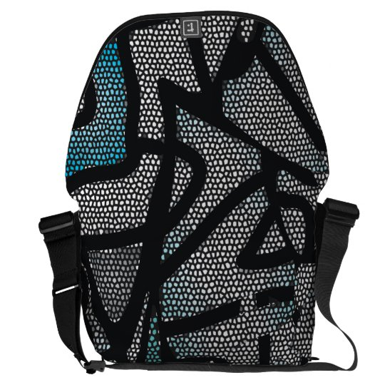 Crackle Medium Messenger Bag