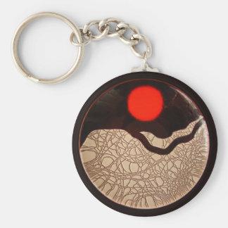 Crackle Sunrise ~ keychain