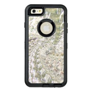 Crackled Glass Swirl Design - Diamond OtterBox Defender iPhone Case