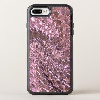Crackled Glass Swirl Design - Pink Alexandrite OtterBox Symmetry iPhone 8 Plus/7 Plus Case