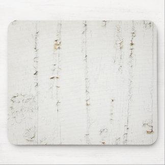 Crackled Wood Wall Mousepad