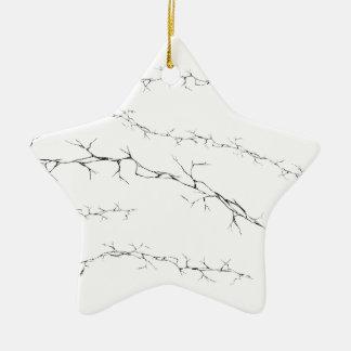 Cracks Ceramic Ornament