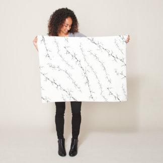 Cracks Fleece Blanket