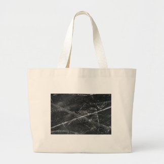 Cracks in the ice large tote bag
