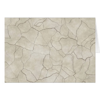 Cracks on Beige Textured Background Card