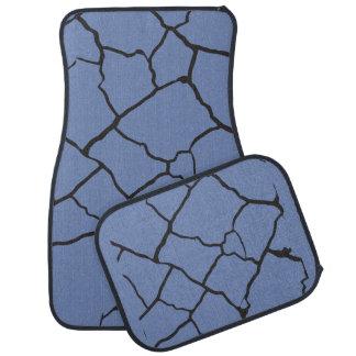 Cracks  Preto Car Mat