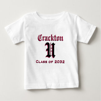 Crackton U for Kids - Class of 2032 Baby T-Shirt