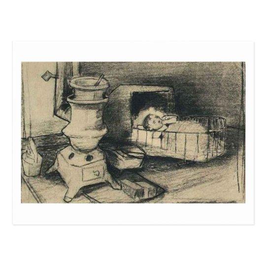 Cradle, Vincent van Gogh Postcard