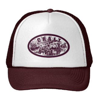 Craft Beer 1967 - Burgundy & White 2 Trucker Hat